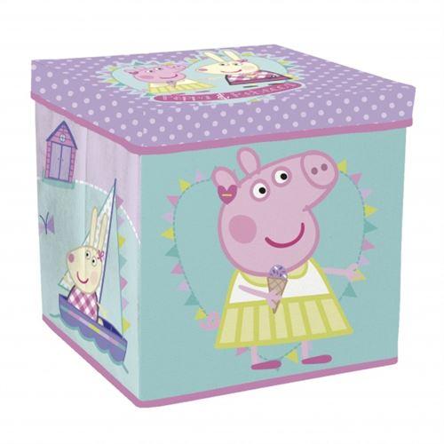Arditex Peppa Pig panier/tabouret de rangement 30 x 30 x 30 x 30 x 30 x 30 cm vert