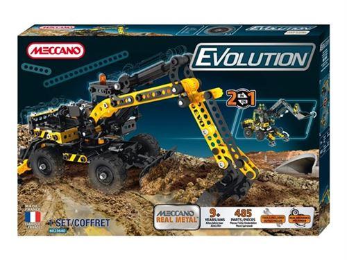 Meccano - 6023640 - jeu de construction - la pelleteuse evolution