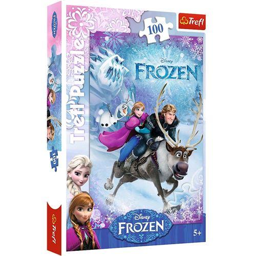 Puzzle 100 Pièces : La Reine des Neiges, Trefl