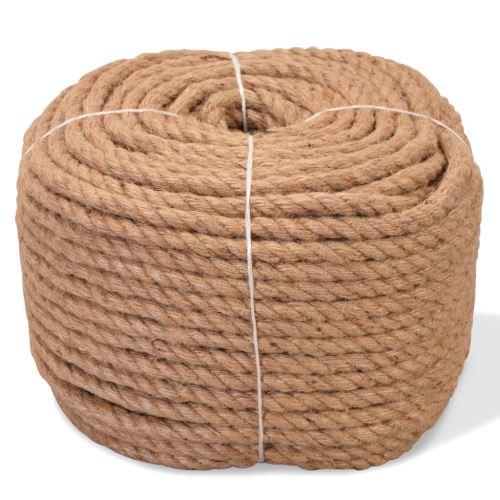 Corde de Jute Naturelle | Cordeline | Ficelle de Jute 100 % Naturel 12 mm 100 m