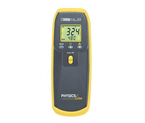 Thermomètre numérique portable c.a 876 + couple k