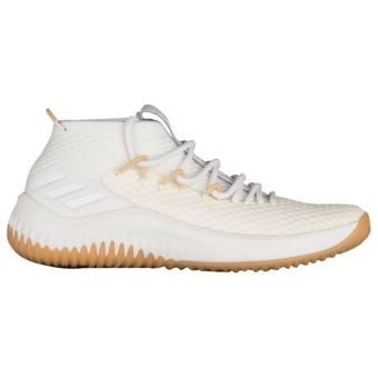Chaussures de Basketball adidas Dame 4 Beige pour homme