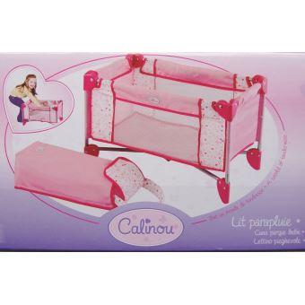 Lit parapluie pour poupée jusqu à 50 cm - Poupon - Achat   prix   fnac 3d3f13d6c4fc
