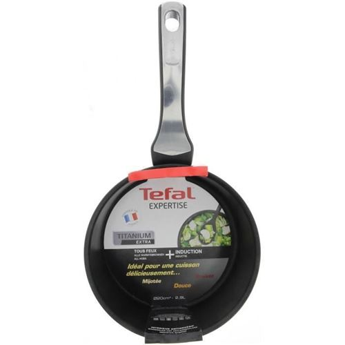 Tefal Expertise Casserole Gv5 20 Cm Noir