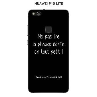 coque huawei p10 phrase