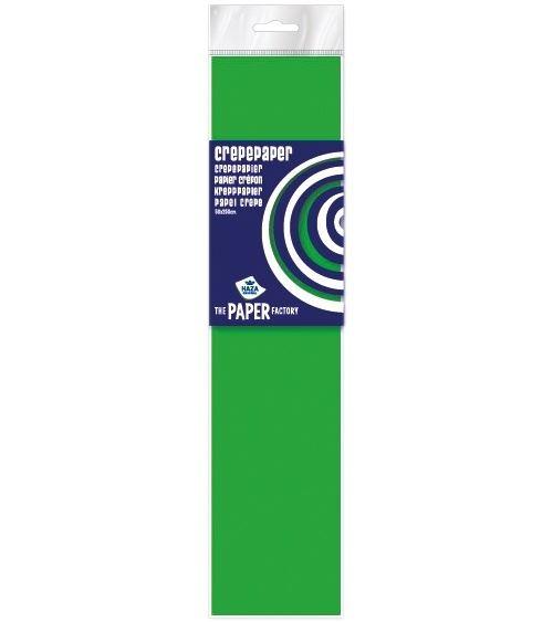 Haza Original papier crêpe fluorocarboné The Paper Factory250 cm vert