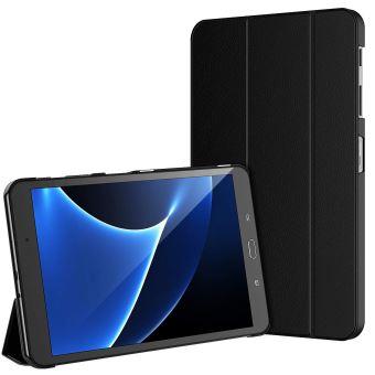 Housse Etui Samsung Galaxy Tab A6 10.1 , Séries SM-T580, Housse Coque Protection ,Etui Tablette Samsung 10.1 Noir
