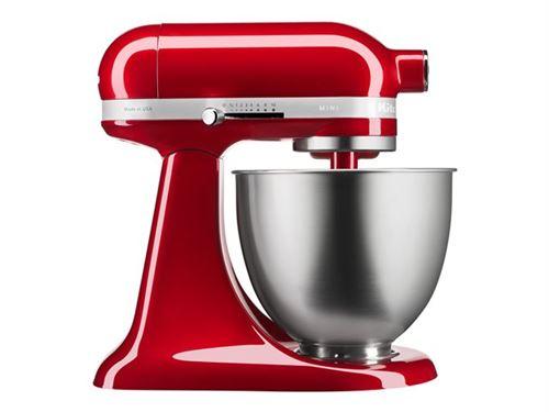 KitchenAid Mini 5KSM3311XECA - Robot pâtissier - 250 Watt - rouge