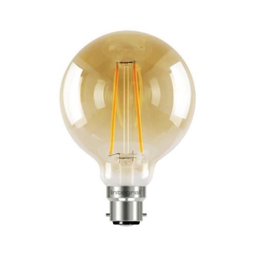 integral led ampoule décorative g95 b22 2,5 w équivalent a 40 w