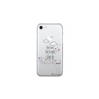 coque iphone 8 rigide transparente