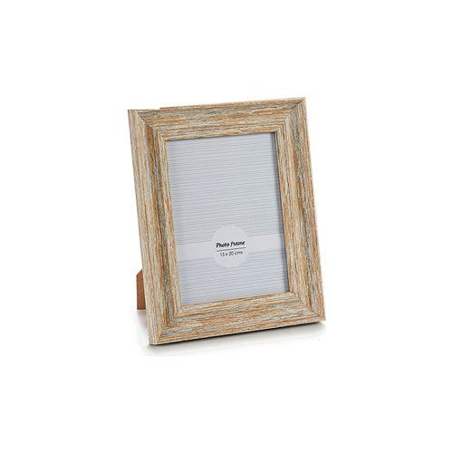 cadre photo gift decor blanc naturel (15 x 20 cm)