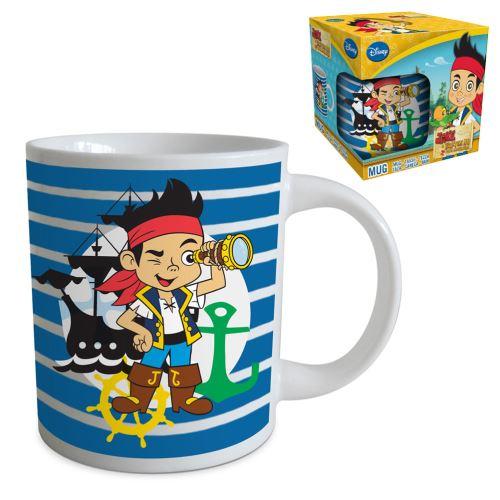 Petit Tasse en céramique rayée Jack et les pirates