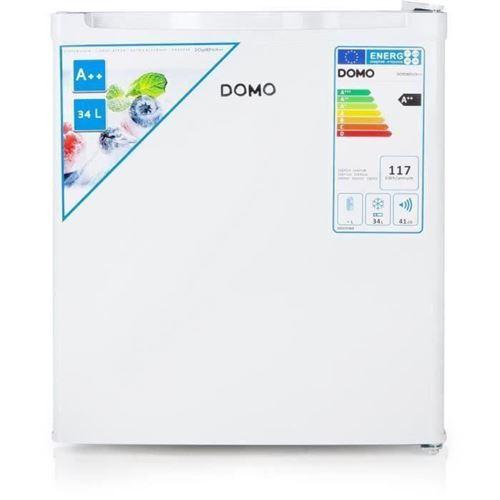 DOMO DO908DV - Congélateur - vertical - pose libre - largeur : 44 cm - profondeur : 49 cm - hauteur : 51 cm - 33 litres - classe E