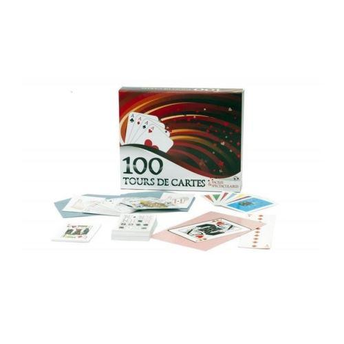 Coffret magie 100 tours de cartes