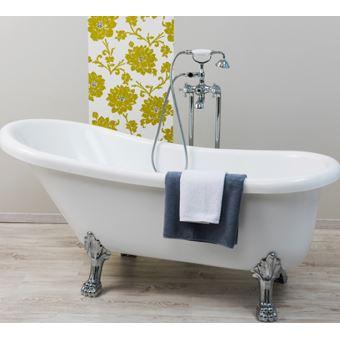 baignoire lot acrylique pattes de lion od on installations salles de bain achat prix fnac. Black Bedroom Furniture Sets. Home Design Ideas