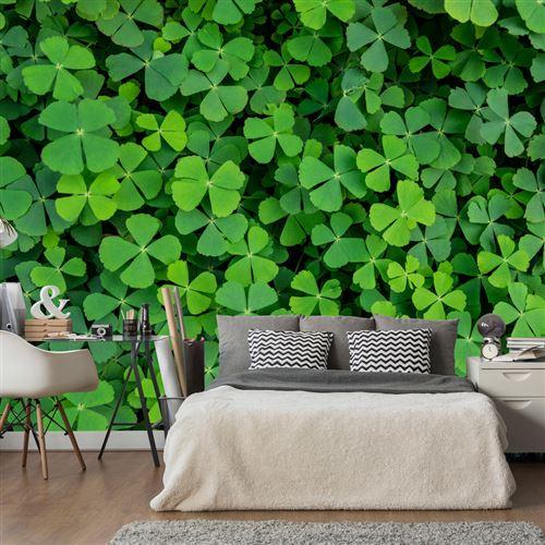 Papier peint - Green Clover - Artgeist - 200x140