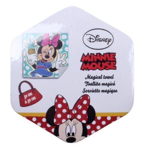 Disney serviette Minnie Mouse 30 x 30 cm coton bleu
