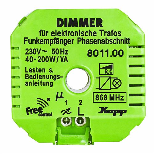 Kopp Free Control Funk-Dimmer Free Control 1-voie