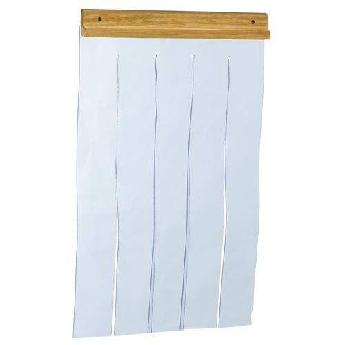 Ferplast Porte pour niche pour chiens modèle DOMUS MEDIUM et CANADA 2, porte pour niches d'extérieur, PVC transparent, anti-pluie, vent, froid, 27,5 x h 42 cm