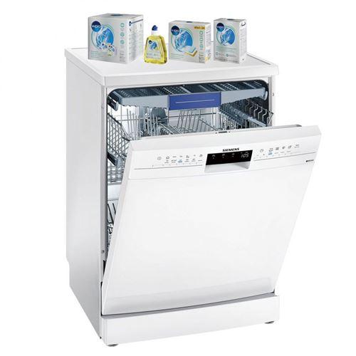 SIEMENS lave-vaisselle posable blanc 44dB A++ 14 couverts 60cm Panier VarioFlex