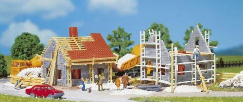 2 maison en construction N Faller N