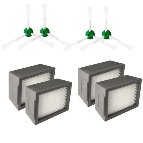 Brosses Kits pour hérisser iRobot Roomba + Core i7 Core i7 / Core i7 plus E5 E6 E7 Aspirateur