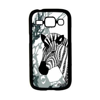 Coque Samsung ACE 3 zebre rayé azteque homme art dessin arbre ...