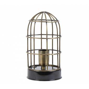 Poser L'héritier Façon Lampe À Oiseau Deco Fer Bronze Electrique En Eclairage Luminaire 1 Cage Du Ampoule Temps Et Carandira Patiné Noir FKT1lcJ3