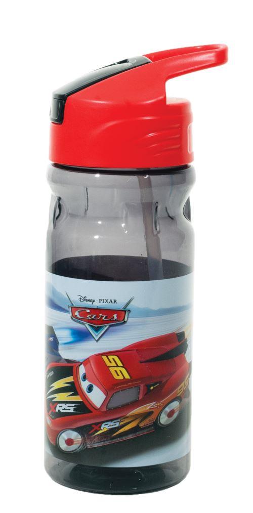 Disney Carsgourde junior 500 ml transparent/rouge