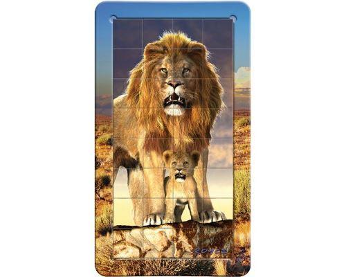 Puzzle 32 Pièces : Mini Puzzles Magnet Lion, Gigamic