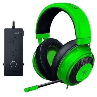 Micro-casque gaming Razer Kraken Tournament Edition Vert
