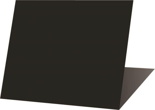 Etiq chevalet noire 7 x 6 p/10