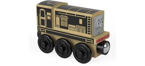 Thomas et ses amis locomotive en bois Diesel, jouet pour enfant 2 ans et plus, FHM22