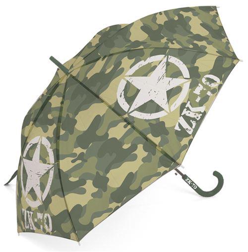 Arditex parapluie d'enfant army print boys 103 cm polyester vert
