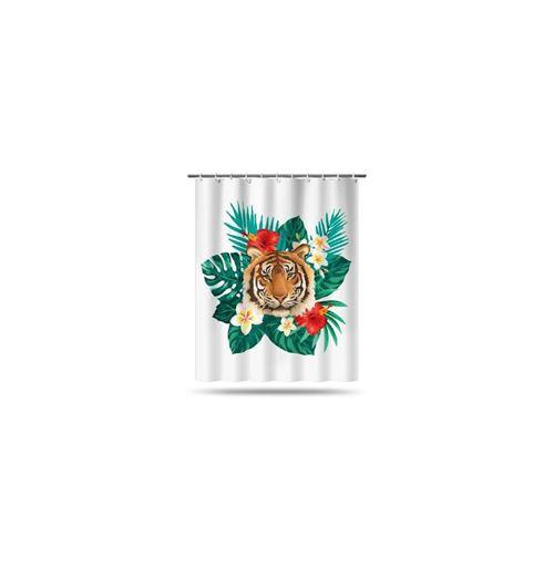 Rideau de douche - Tropical - 180 x 200 cm