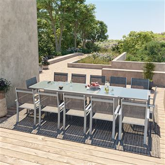 Avril Paris - HARA XXL - Table de jardin extensible ...