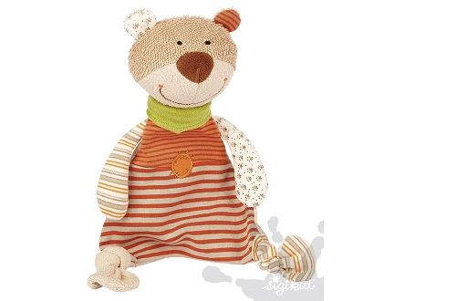 Doudou ours organic collection sigikid