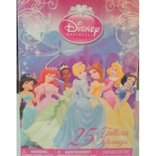 Tatouages temporaires Disney Princess 25
