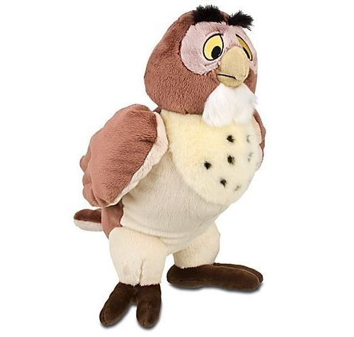 Hibou En Peluche Winnie L'Ourson, Exclusivité Disney