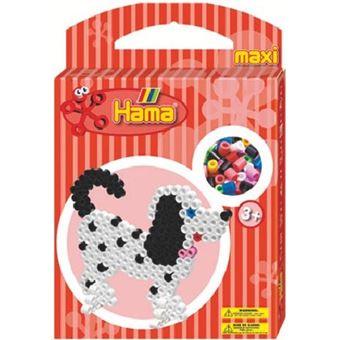 Hama 8762 Loisirs Creatifs Perles Boîte Chien Maxi Perle