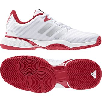 pretty nice b3b50 0efca Chaussures adidas Barricade 2018 -Taille 35 Blanc - Chaussures et chaussons  de sport - Achat  prix  fnac