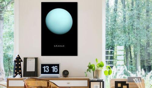 Tableau - Uranus (1 Part) Vertical .Taille : 40x60