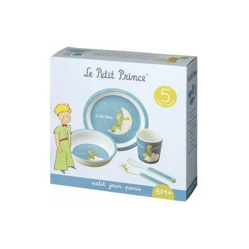 Coffret cadeau 5 pieces bleu le petit prince
