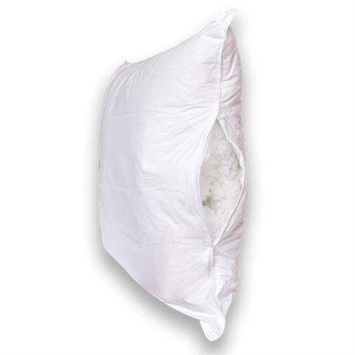 Oreiller Adaptable, 650gr/m², 60x60cm, Enveloppe 100% Coton Percale