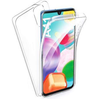Coque 360 degrés Samsung Galaxy A41 Protection intégrale souple TPU Transparente face et dos Smartphone - Accessoires Pochette Exceptional Case