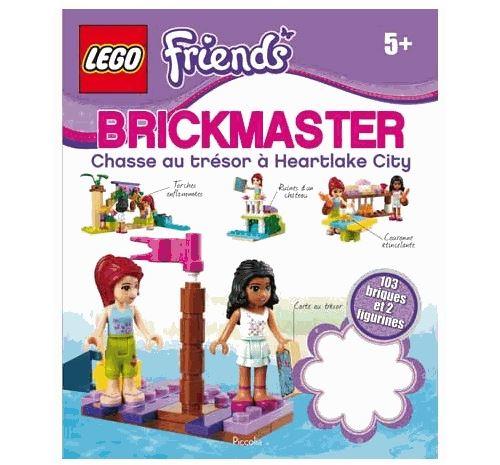 Lego friends - chasse au trésor à heartlake city