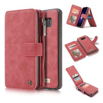 coque rose iphone x portemonais