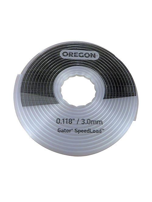 Oregon 24–518–03 3.0 mm x 5.52 m Grande Gator Speedload Coupe-bordures de remplacement de disque, blanc, 24-518-10