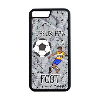 coque iphone 8 plus silicone foot