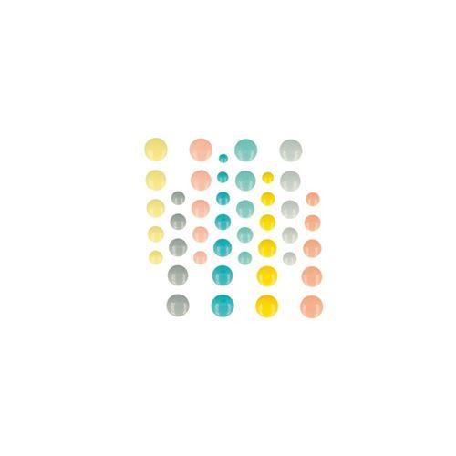 64 pastilles autocollantes en émail Scandisweet - Artemio